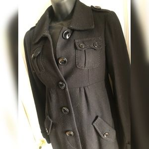Classic Black Coat from Divided